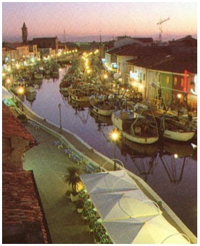 Cesenatico Harbour